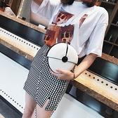 斜背包 夏天小包包女2021新款鏈條包個性小圓包韓版單肩包斜挎夏天小包包【牛年大吉】