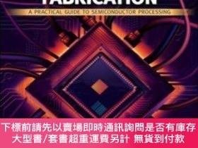 二手書博民逛書店Microchip罕見Fabrication: A Practical Guide To Semiconducto