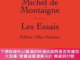 二手書博民逛書店Les罕見EssaisY255174 Michel Eyquem De Montaigne Presses U