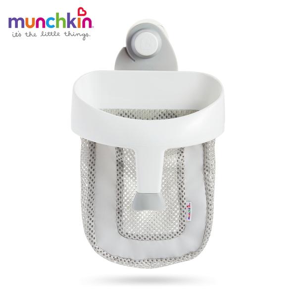 munchkin滿趣健-勺狀洗澡玩具收納袋-(顏色隨機出貨)