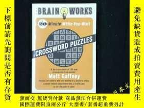 二手書博民逛書店英語猜字健腦益智遊戲The罕見Brain Works: 20-M