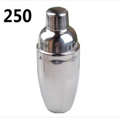 不鏽鋼調酒器 雪克杯 250CC【AE02626】