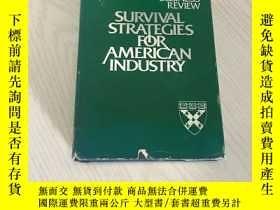 二手書博民逛書店survival罕見strategies for american industryY20850 Alan M