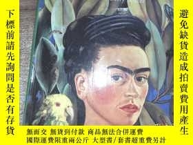 二手書博民逛書店frida罕見kahlo beneath the mirror
