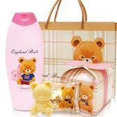 (滿3件$399)英國貝爾抗菌洗髮乳220ml(格紋款)+香皂禮物款含紙袋~指定商品需滿3件以上才可出貨