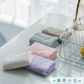 兒童毛巾4條裝小方巾