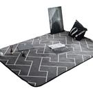 六月情北歐地毯臥室客廳地墊滿鋪可愛床邊房間茶幾沙發長方形門墊  自由角落