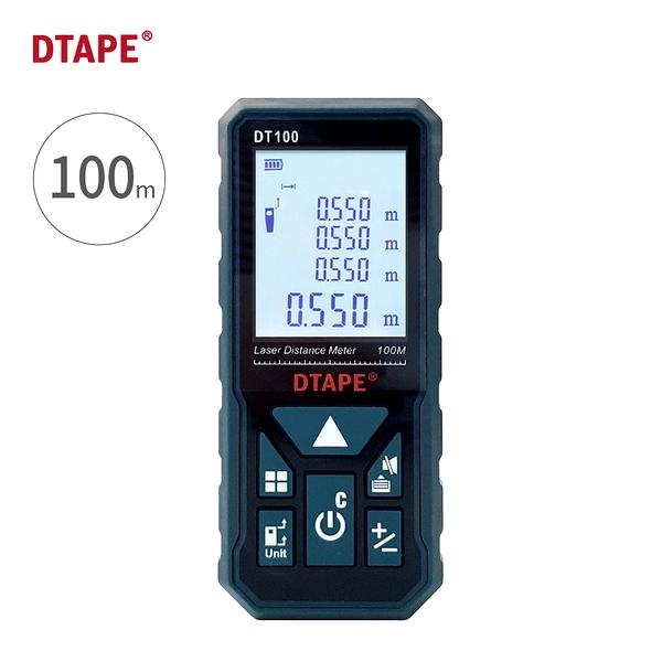 DTAPE【紅外線雷射測距儀100M / DT-100】裝潢測量機器 紅外線測量 測距儀器 建築 鐵路 工程