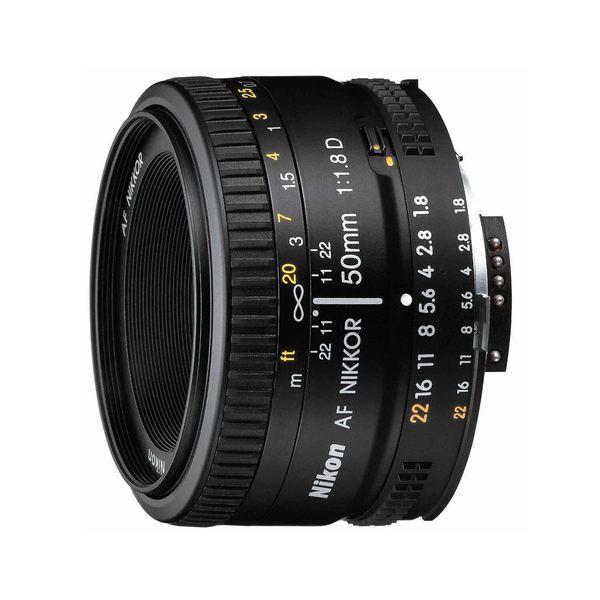Nikon AF 50mm f/1.8D 大光圈標準鏡頭 F1.8D 【公司貨】