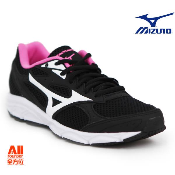 【Mizuno美津濃】女款慢跑鞋 MAXIMIZER 20 -黑粉色(K1GA180102)【全方位運動戶外館】