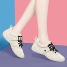 小白鞋女2021春季新款百搭透氣平底網紅板鞋運動學生休閑韓版單鞋 快速出貨