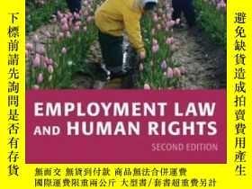 二手書博民逛書店【罕見】Employment Law And Human Rig