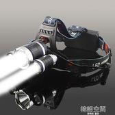 LED三頭燈強光充電式夜釣魚燈遠射手電筒超亮頭戴式3000米 韓語空間