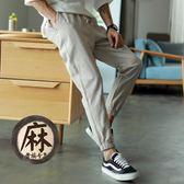 夏季薄款休閒褲寬松運動褲 st204『毛菇小象』