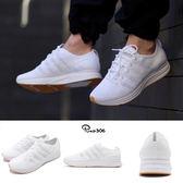【六折特賣】Nike Flyknit Trainer 白 全白 飛線編織 反光 慢跑鞋 男鞋 膠底 運動鞋【PUMP306】AH8396-102