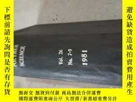 二手書博民逛書店ournal罕見of applied polymer scien
