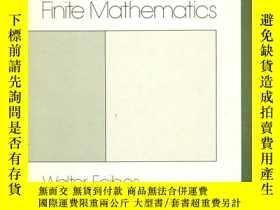 二手書博民逛書店Introduction罕見to Finite Mathemat