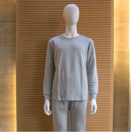 【碧多妮】蠶絲-男性菱形壓紋保暖衛生衣褲-居家服-睡衣