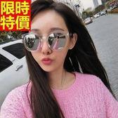 太陽眼鏡-偏光新款透明白反光抗UV男女墨鏡67f31[巴黎精品]