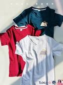 熱賣短袖T恤 短袖t恤女2021年新款韓版寬鬆大碼時尚洋氣夏裝潮百搭上衣2021 coco