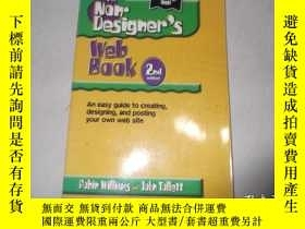 二手書博民逛書店The罕見Non-Designer s Web BookY258