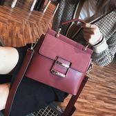 大包包女2017冬季新款韓版百搭大氣手提時尚大容量磨砂女包斜挎包 優帛良衣