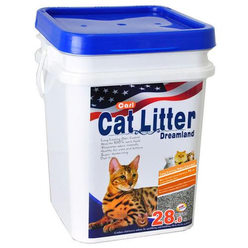 【寵物王國】CARL卡爾-天然活性碳多功能貓砂(無香/無塵/低敏)13kg,本月限時特賣+免運費!