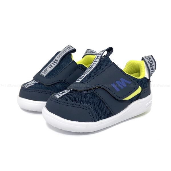 《7+1童鞋》日本 IFME 寶寶機能 學步鞋 D499 藍色