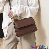 小方包 休閒復古小方包包女2021新款潮斜背包歐美百搭側背包女包 寶貝計畫