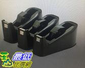 [COSCO代購] 手牌桌上型膠帶台(黑) X 3入 _W115024