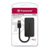 Transcend 創見 USB 3.0 4埠 集線器 HUB2(高速傳輸)