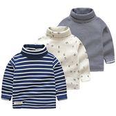 寶寶長袖T恤 2018秋冬裝新款男童童裝兒童高領打底衫tx-9992
