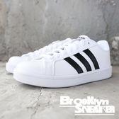 Adidas W Cloudfoam Advanta  白黑 基本款 板鞋 休閒鞋 女 (布魯克林) 2018/8月 AW4287