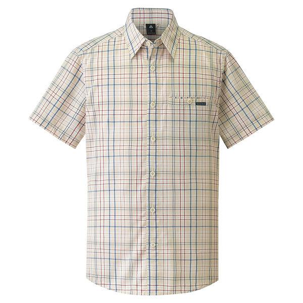 [好也戶外]mont-bell Wickron 男款短袖單口袋襯衫/淺卡 No.1114282/BG