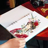 活頁素描手繪畫本A4空白簡約小清新文藝復古馬克筆專用動漫速寫紙 范思蓮恩