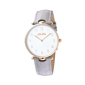 【Folli Follie】Lady Club簡約核心精緻時尚腕錶-質感灰/WF17R015SSS_GA/台灣總代理公司貨享兩年保固