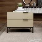 床頭櫃床頭櫃現代簡約小戶型奢華北歐臥室家具米白色收納櫃輕奢抽屜櫃子CY『新佰數位屋』