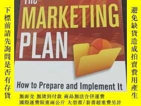 二手書博民逛書店The罕見Marketing Plan:How to Prepa