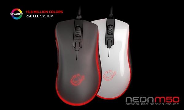 [地瓜球@] Ozone Neon M50 RGB 電競 光學 滑鼠