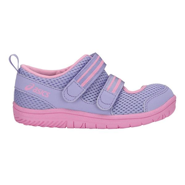 ASICS AMPHIBIAN7 [TUS121-500] 中童鞋 運動 慢跑 休閒 魔鬼氈 亞瑟士 粉紫