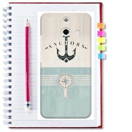 ♥ 俏魔女美人館 ♥ HTC One E8【海軍*水晶硬殼 】手機殼 保護殼 保護套 手機套