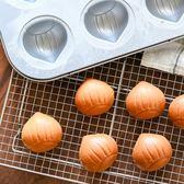 栗子蛋糕 海綿蛋糕模 杏仁蛋糕模 小面包模 烘焙模具 Igo