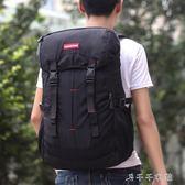 登山包學生韓版男旅行包大容量休閒雙肩包女旅游背包「千千女鞋」