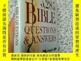 二手書博民逛書店3,285罕見Bible Questions & Answers