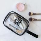 洗漱包 旅行收納透明PVC化妝包定制 ins手提大容量洗漱包 戶外防水化妝袋