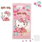 凱蒂貓 Kitty 和風櫻花童巾 兒童毛巾~DK襪子毛巾大王
