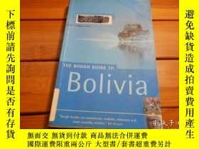 二手書博民逛書店THE罕見ROUGH GUIDE TO BOLIVIA 玻利維亞