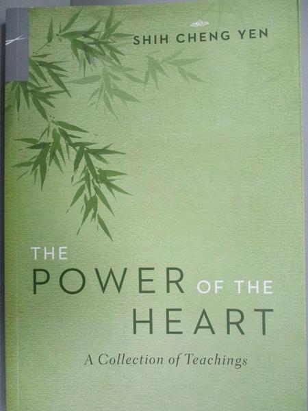 【書寶二手書T2/宗教_GBX】The Power of the Heart_Cheng-yen Shih
