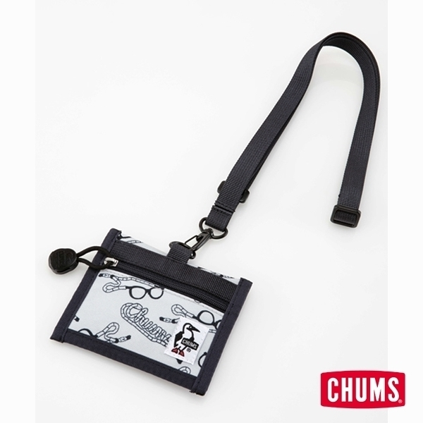 CHUMS Eco ID Card Holder 證件帶 印花/眼鏡帶 CH602488Z112【GO WILD】
