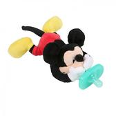 【愛吾兒】KIDS II Bright Starts Disney Baby 迪士尼安撫奶嘴布偶玩具-米奇
